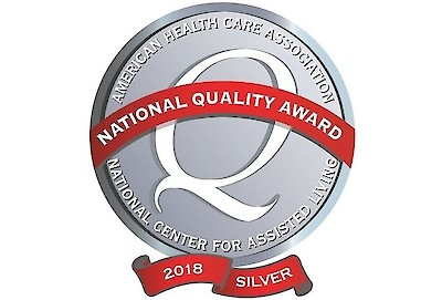 iCare Health Network, Silver Springs Care Center, AHCA/NCAL Silver Quality Award, 2018
